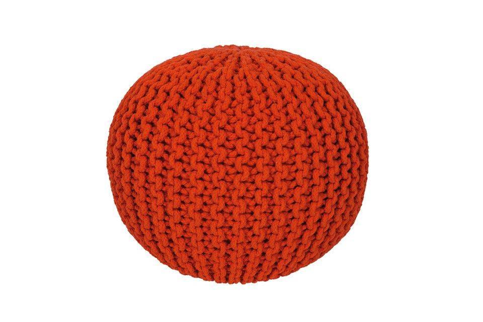 woonkamer Obsession Cool Poef Oranje