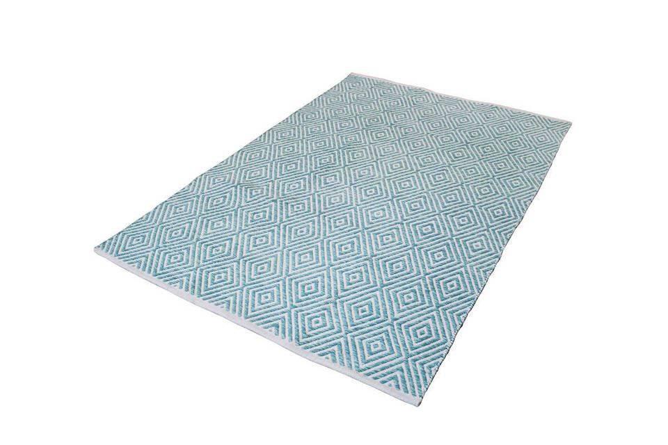 woonkamer Kayoom Aperitif Vloerkleed 160x230 Turquoise