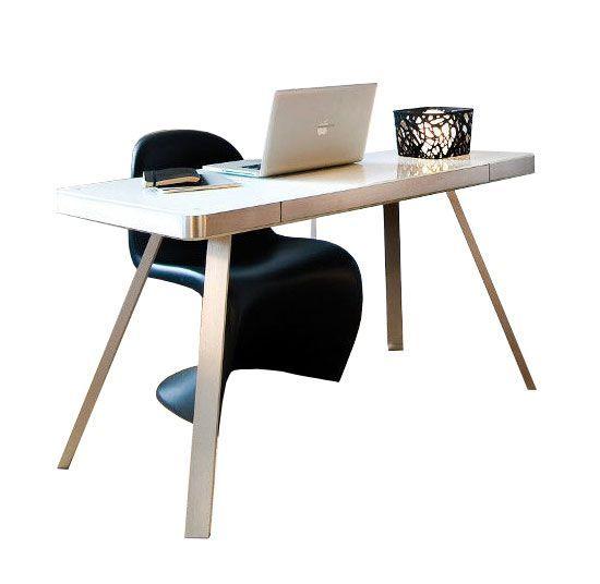 Jahnke Moebel Smart Desk Laptoptafel Wit