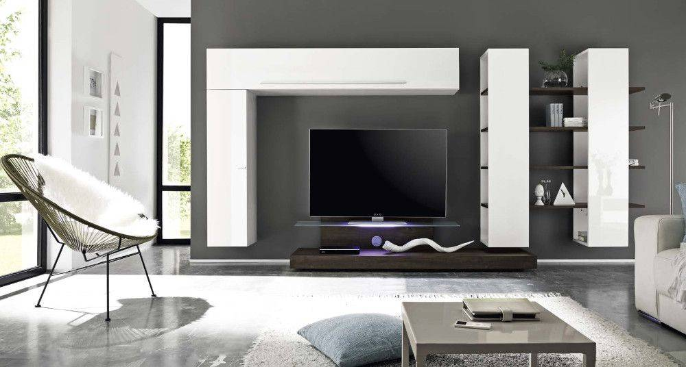Benvenuto Design Line TV wandmeubel Seven Wit