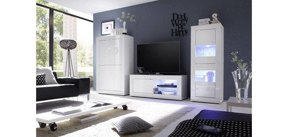 Benvenuto Design Modena TV meubel Big HG Wit