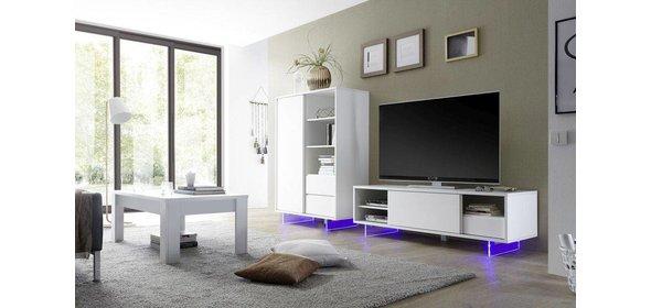Benvenuto Design Aladin TV-meubel met Plexiglas poten