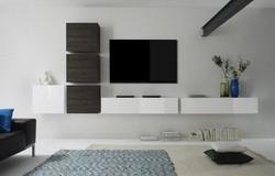 Cube TV wandmeubel Combi