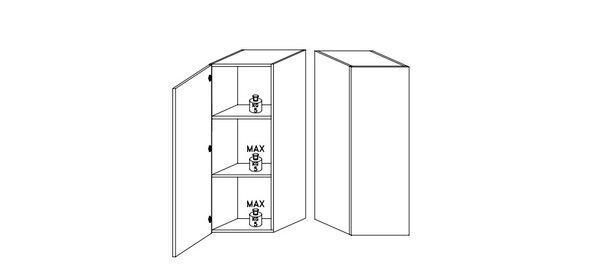 Benvenuto Design Cube TV wandmeubel Combi