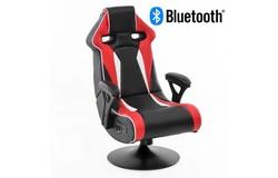 Specter Gamestoel Rood met Bluetooth