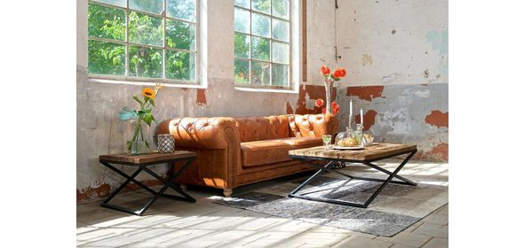 Richmond Interiors Kensington Salontafel Industrial