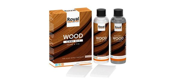 Oranje Furniture Care Royal Wood Care Kit Hoogglans