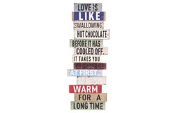 Love Tekstbord