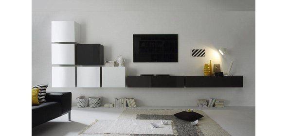 Benvenuto Design Cube TV wandmeubel Combi Nine