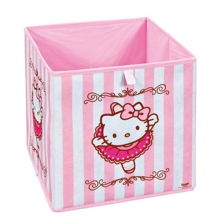 Interlink SAS Hello Kitty Opbergdoos Roze/Wit