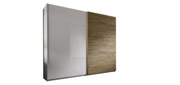 Benvenuto Design Italo Schuifdeurkast Eiken 240 cm.