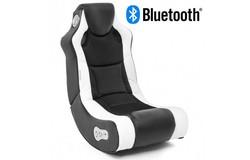 Booster Gamestoel Wit met Bluetooth
