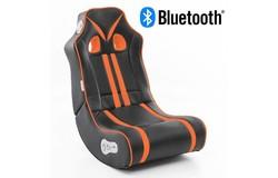 Ninja Gamestoel Oranje met Bluetooth