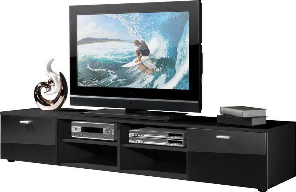 Germania Noven TV meubel HG Zwart