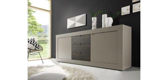 Benvenuto Design Modena Dressoir Big Mat Beige/Wenge