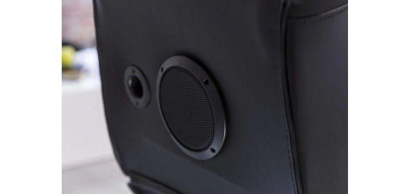 Music Rocker Specter Gamestoel Zwart met Bluetooth