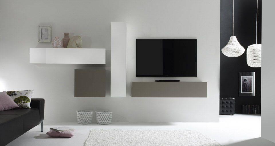 Benvenuto Design Cube TV wandmeubel Five kopen bij Furnea.nl