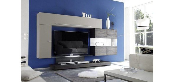 Benvenuto Design Line Vitrinekast Wenge+LED verlichting