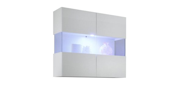 Benvenuto Design Line Vitrinekast HG Wit+LED verlichting