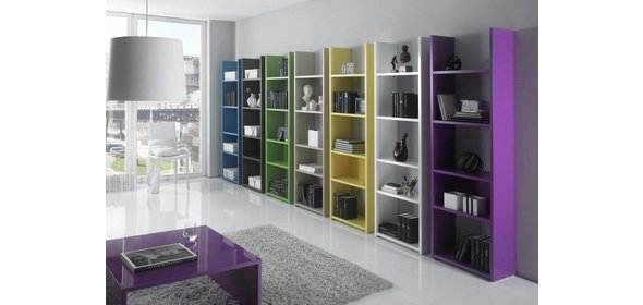 Benvenuto Design Benito Boekenkast HG Lila