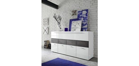 Benvenuto Design Line Dressoir HG Wit/Wenge