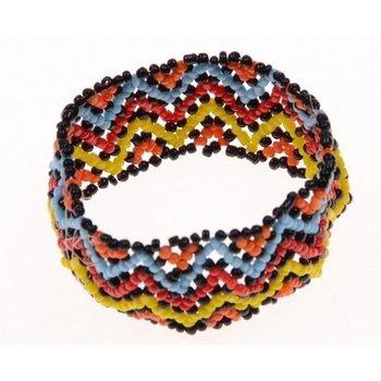 Armband Ibiza multicolor kraaltjes