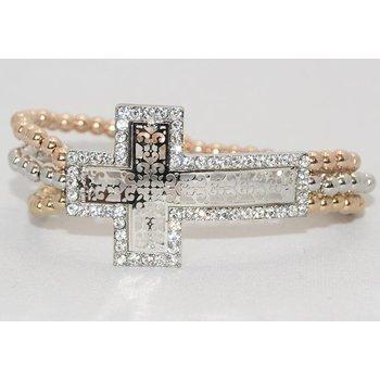 Armband kruis opengewerkt