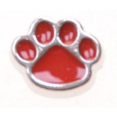 Bedel dog paw red voor Memory Locks
