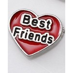 Bedel heart Best Friend voor Memory Lockets