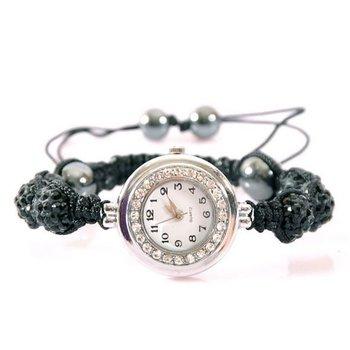 Horloge Shamballa zwart