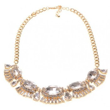 Ketting exclusief goud strass 2