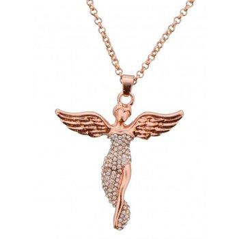 Ketting Angel rose-goud