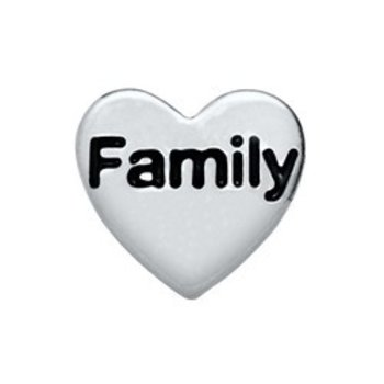 Bedel Heart Family voor Memory Lockets