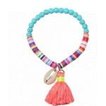 Armband BOHO multicolor-turqoise