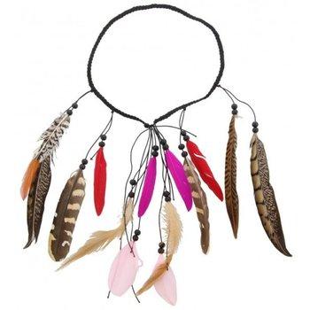 Haarband veren Ibiza Boho multicolor 1