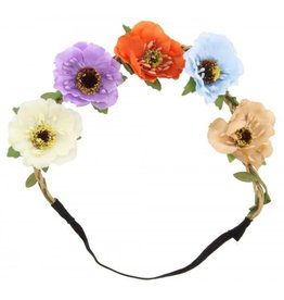 Haarband Ibiza Flowers multicolor
