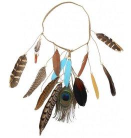 Haarband veren Ibiza Boho multicolor 3