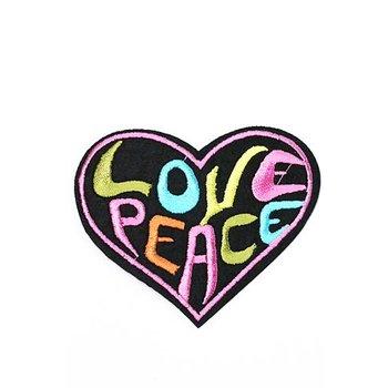 Jeans Patch Love Peace