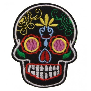 Jeans Patch Skull multicolor