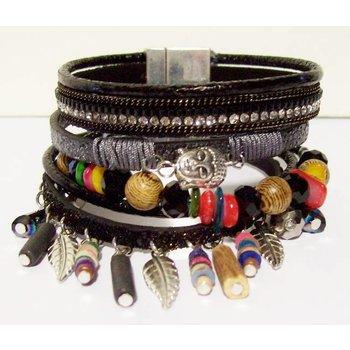 Armband exclusief Ibiza zwart 117