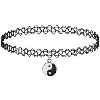 Choker tattoo Yin Yang