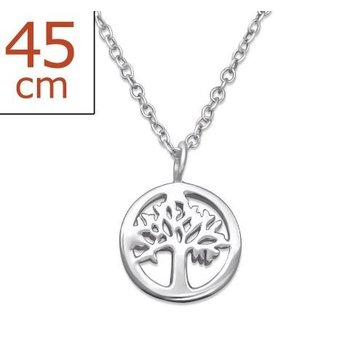 Precious Jewel Ketting Tree of Life 925 zilver