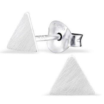 Precious Jewel Oorbellen zilver 925 Triangle studs