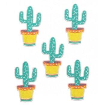 Jeans Patch Cactus