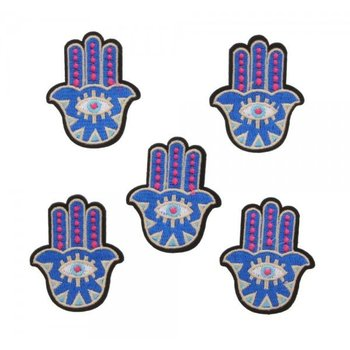 Jeans Patch Hamsa hand