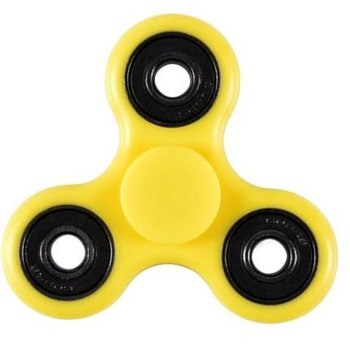 Fidget Spinner geel-zwart