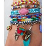 Armband exclusief Ibiza multicolor