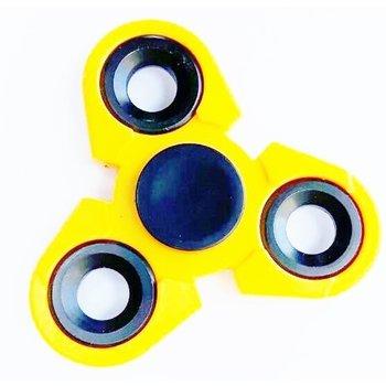 Fidget Spinner Turbo geel- zwart