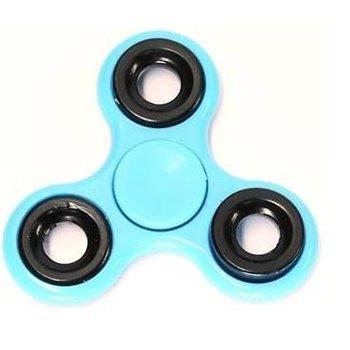 Fidget Spinner blauw-zwart