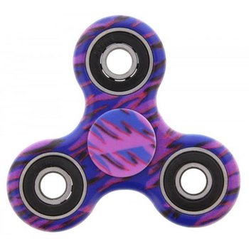Fidget Spinner Special Design camouflage paars